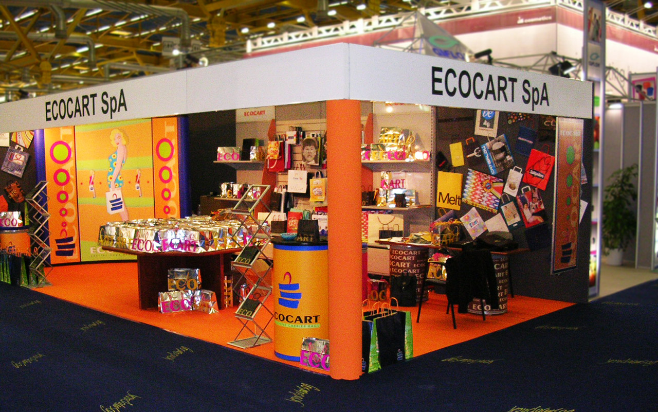 Stand for Trade Fairs of Ecocart Spa Italy