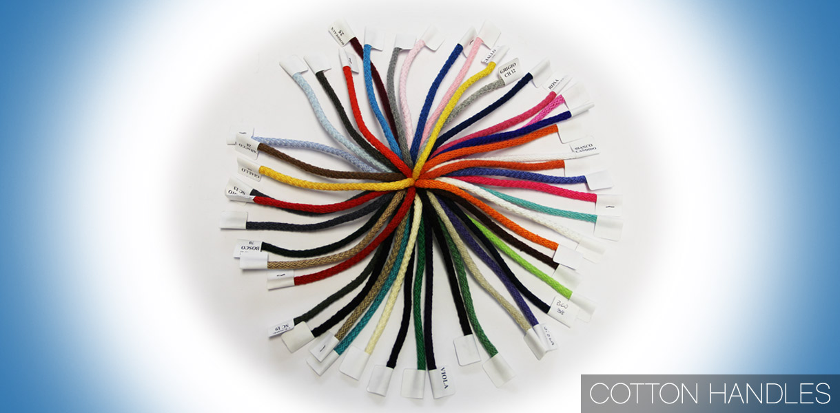 Our wide range of Cotton Rope Handles. Luxury Paper Carrier Bags.